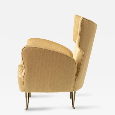 Elegant Armchair by Isa Bergamo 1950