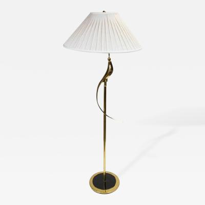 Elegant Brass Floor Lamp