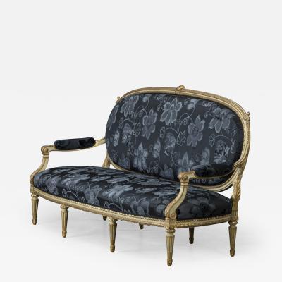 Elegant Canape Louis XVI Style France 1860 1880