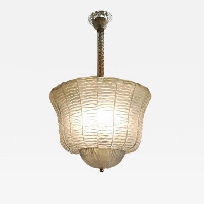 Elegant Murano Glass Lantern
