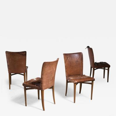 Elias Svedberg Elias Svedberg set of 4 chairs for Nordiska Kompaniet