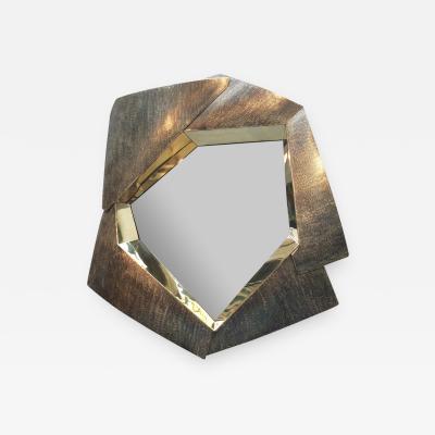 Elie Hirsch FRACTAL Brass Mirror