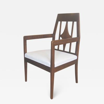 Eliel Saarinen Art Nouveau Armchair in Beech in the style of Eliel Saartinen