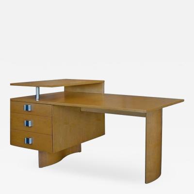 Eliel Saarinen Birch S Series Architectural Desk by Eliel Saarinen