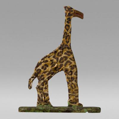 Elijah Pierce Giraffe 1978