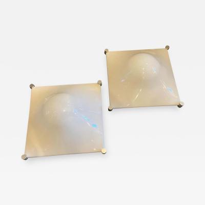 Elio Martinelli 1960s Set of two Elio Martinelli Space Age Bolla Wall Lights