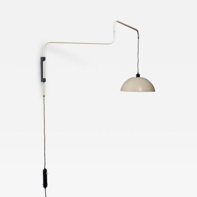 Elio Martinelli Elio Martinelli Swiveling Height Adjustable Wall Lamp 1960s