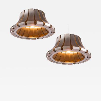 Elio Martinelli Pair of Ceiling Lamps by Elio Martinelli for Martinelli