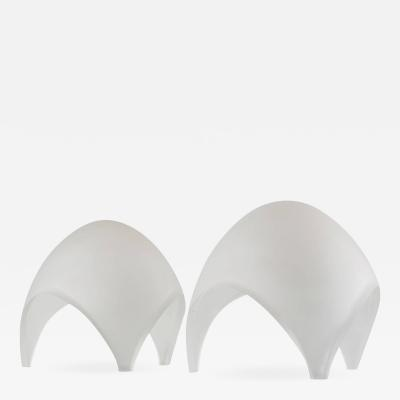 Elio Martinelli Pair of Coque Table Lamps by Elio Martienelli for Martinelli