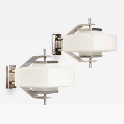 Elio Monesi Rare pair of Sconces by Elio Monesi for Arredoluce