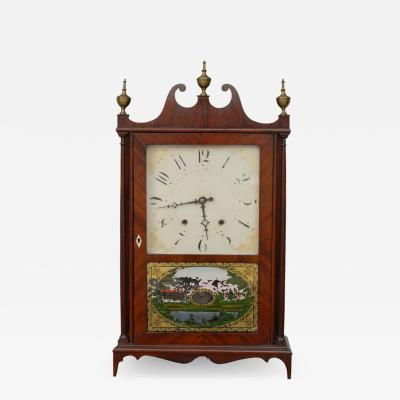 Eliphalet Terry Eli Terry Sons Pillar and Scroll Clock