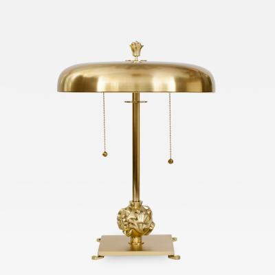 Elis Bergh SWEDISH ART DECO LAMP BY ELIS BERGH FOR KOSTA