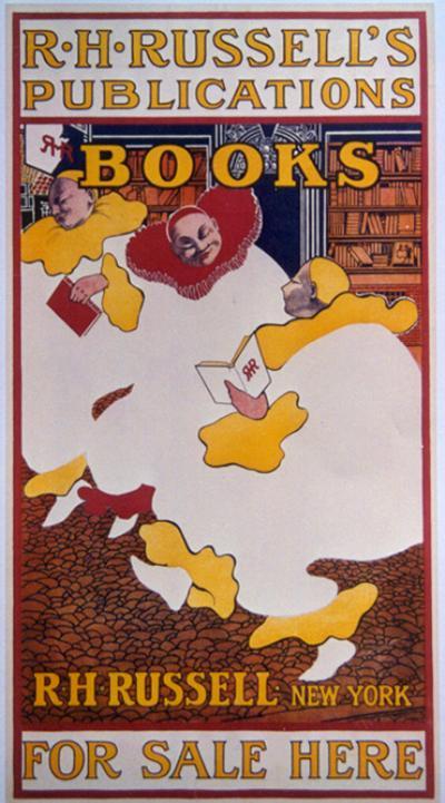 Elisha Brown Bird Late 19th Century American Book Poster by Elisha Brown Bird circa 1897
