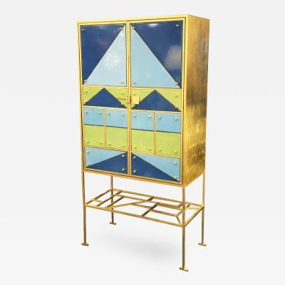 Elizabeth Garouste N10170 Arlequin Cabinet by Elizabeth Garouste 1946 France 2002