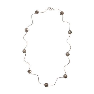 Elizabeth Garvin Elizabeth Garvin Modernist Silver Necklace