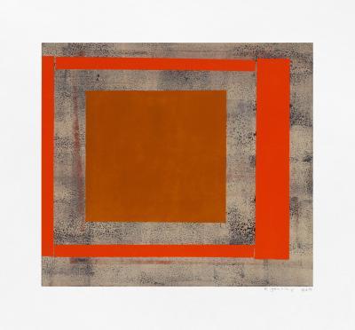 Elizabeth Gourlay Ochre red ash