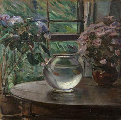 Elizabeth Nourse Etude Fleurs 1911