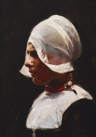 Elizabeth Nourse Head of a Girl