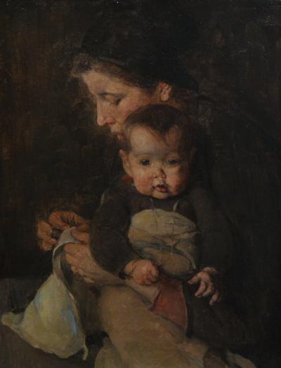 Elizabeth Nourse Mere et bebe