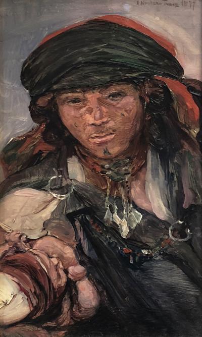Elizabeth Nourse Tete bedouine