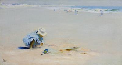 Elizabeth Wentworth Roberts Ogunquit Beach