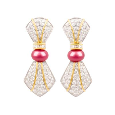 Ella Gafter Ella Gafter Diamond Drop Earrings