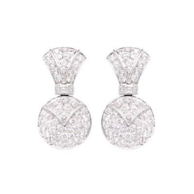 Ella Gafter Ella Gafter Diamond Earrings Clip On