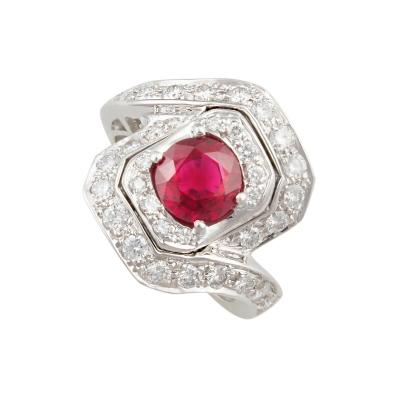 Ella Gafter Ella Gafter Ruby and Diamond Ring