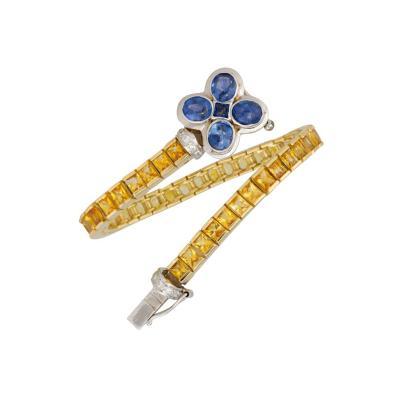 Ella Gafter Ella Gafter Sapphire and Diamond Bracelet