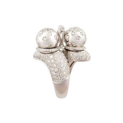 Ella Gafter Ella Gafter Zodiac Libra Ring with Diamonds