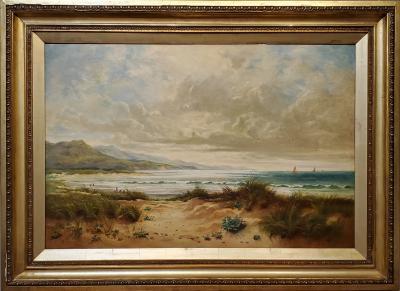 Ellen Hartridge River Orwell an Oil Painting signed by Ellen Hartridge dated 1905