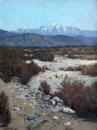 Elmer Wachtel Desert Landscape