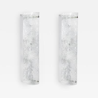 Elongated Murano Glass Sconces Austria 1960s