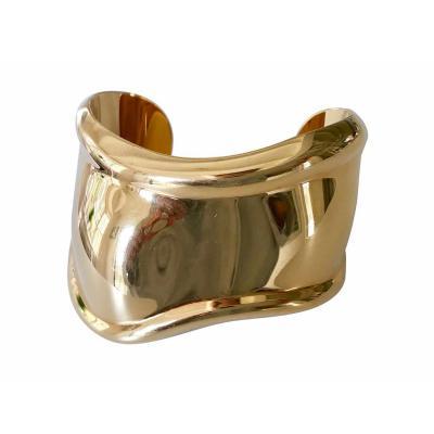 Elsa Peretti An 18K Yellow Gold Elsa Peretti Gold Bone Cuff Bracelet