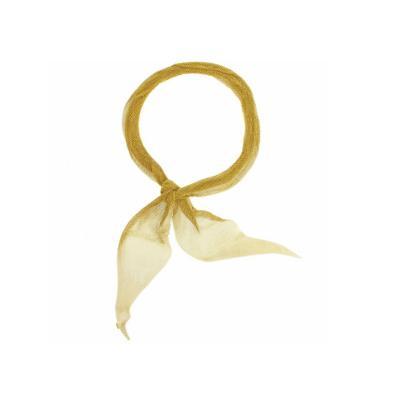 Elsa Peretti Elsa Peretti for Tiffany Co Large Gold Mesh Scarf Necklace