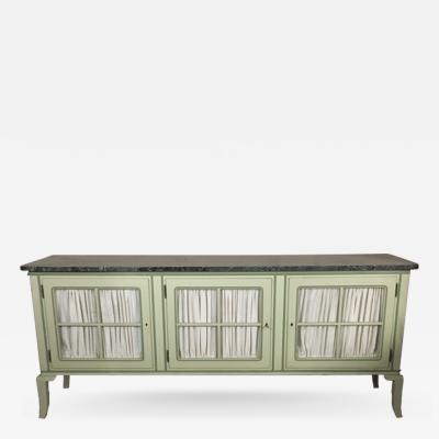 Else Wenz Vietor A German New Objectivity Marble Top Sideboard
