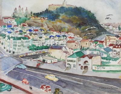 Elsie Lower Pomeroy San Francisco Cityscape