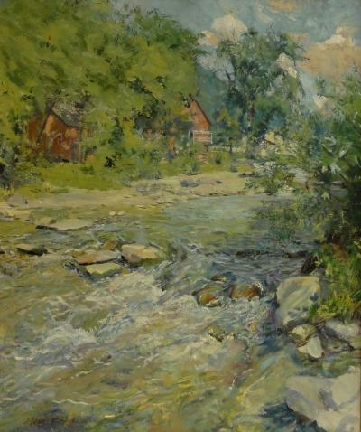 Elsie Mae Tedford Spring Stream