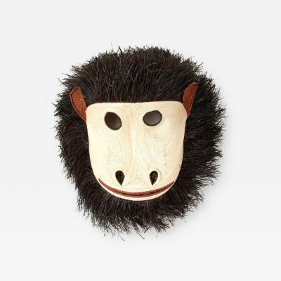 Embera Weaver Grande Fuzzy Monkey Embera Mask