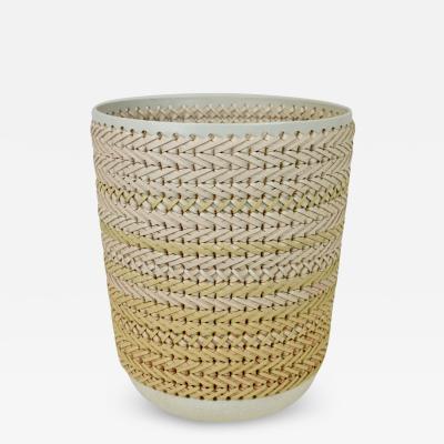Embroidered Decorative Ceramic Vase Gladiateur 80