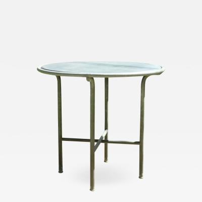 Embru Slate Top Outdoor Table Switzerland 1950s