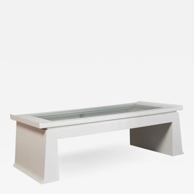 Emiel Veranneman Rare Convertible Coffee Table by Veranneman Belgium ca 1980