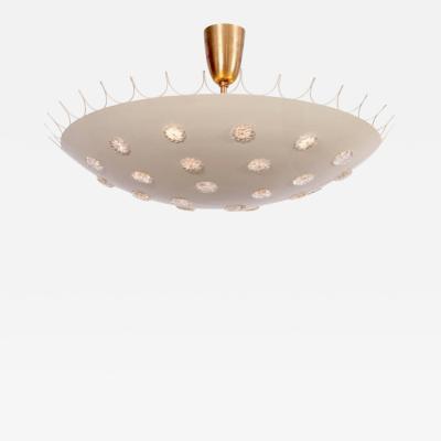 Emil Stejnar Emil Stejnar Bowl Flush Mount Ceiling Light Chandelier by Rupert Nikoll