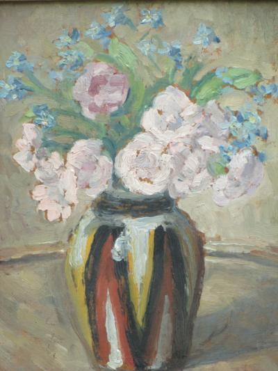 Emile DEZAUNAY Bouquet de Fleurs