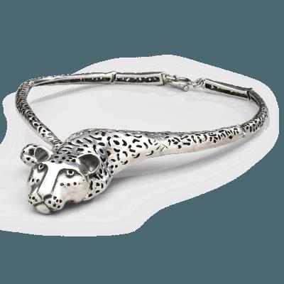 Emilia Castillo Emilia Castillo Sterling Jaguar Necklace