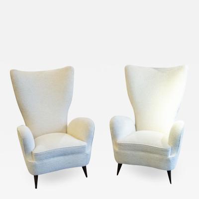 Emilio Sala e Giorgio Madini Sala Madini Pair of armchairs by Emilio Sala Giorgio Madini