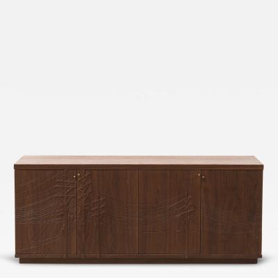 Emily Henry Kit Carson Electric Console in Walnut by Emily Henry