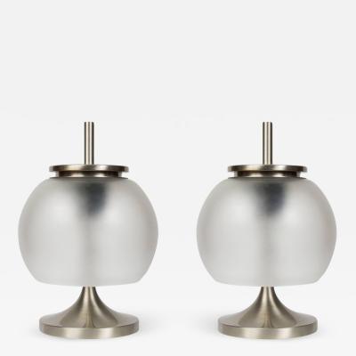 Emma Gismondi Schweinberger Pair of 1962 Emma Gismondi Chi Table Lamps for Artemide