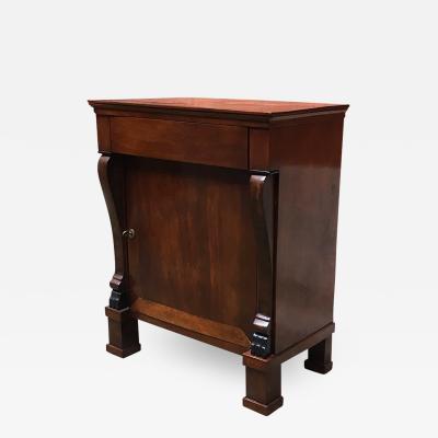 Empire style mahogany cabinet 1850s