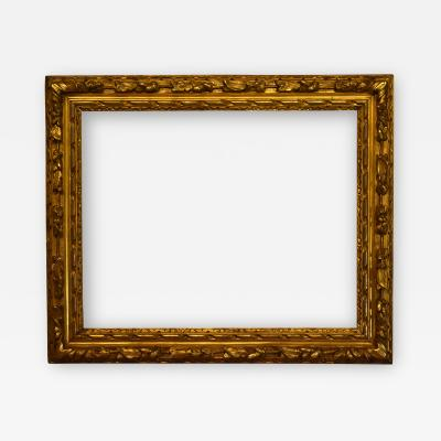 English 1690 Lely Carved Gilt Picture Frame 27x35